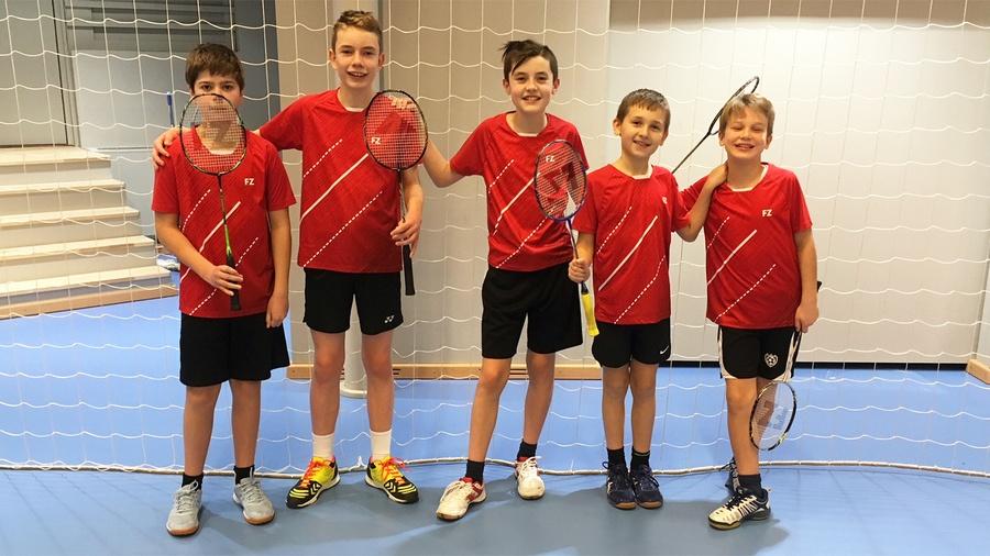 5 badminton ungdomsspillere