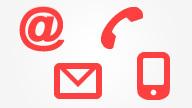 Kontakt ikoner